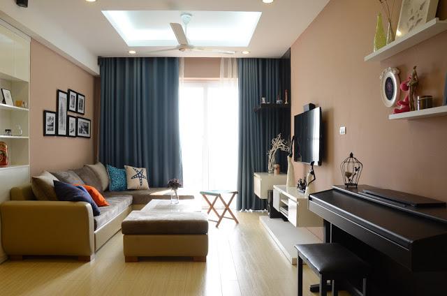 Phòng khách thoáng sáng