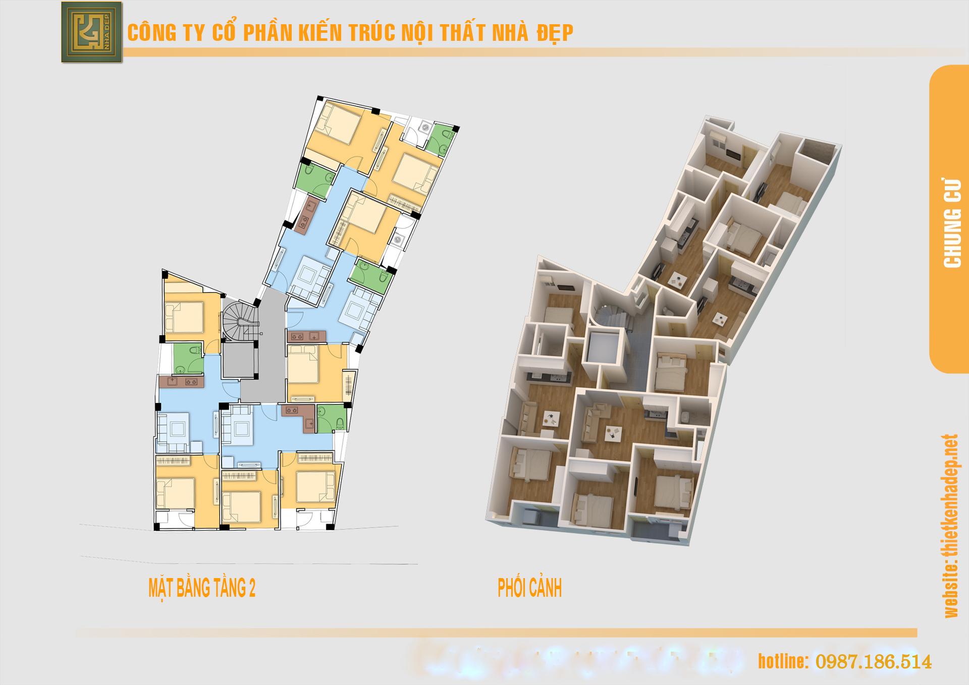 Mặt bằng tổng thể căn hộ