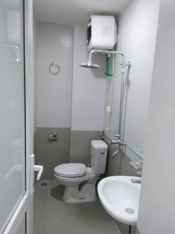 Thiết bị vệ sinh bên trong căn hộ hoàn thiện