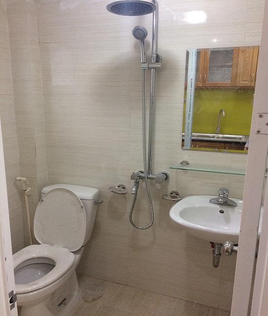 Phòng WC Chung cư võ chí công đã hoàn thiện