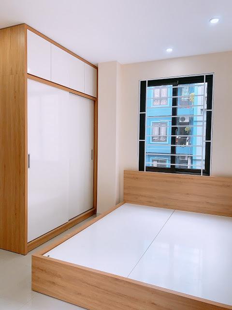 Phòng ngủ Chung cư mini ngã tư sở